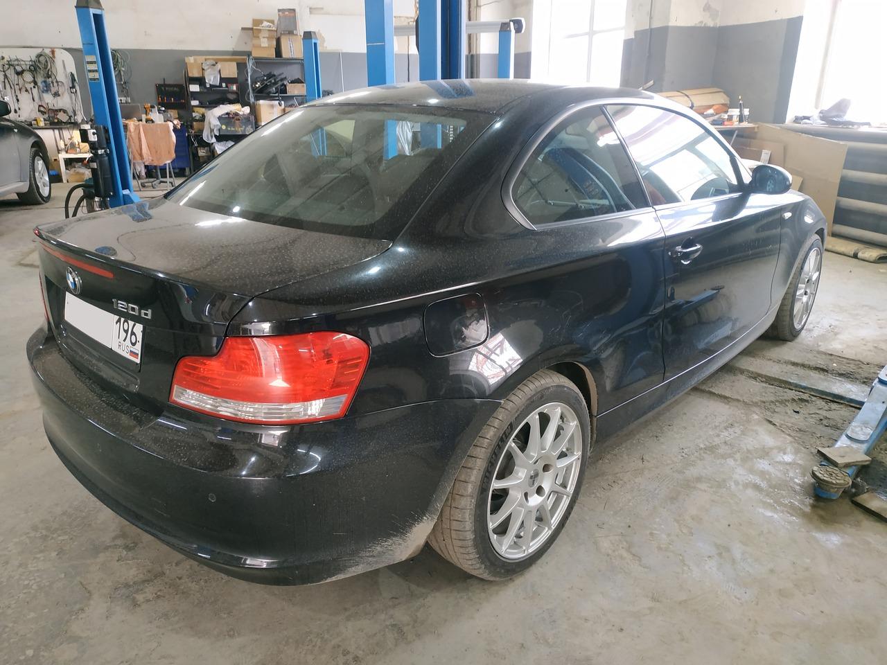 BMW E82 120d, чип тюнинг