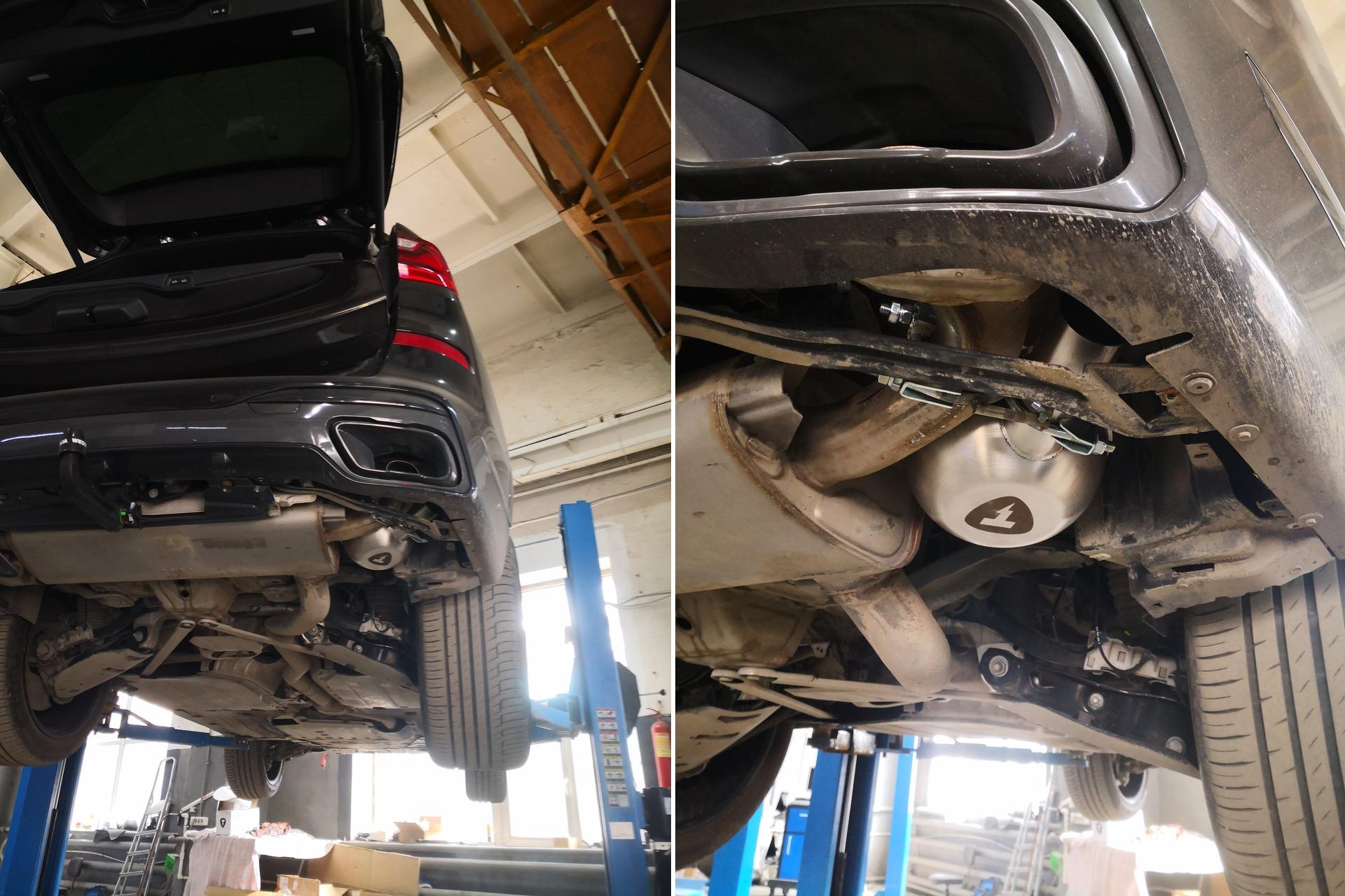 активный выхлоп Thor, BMW X7 G07