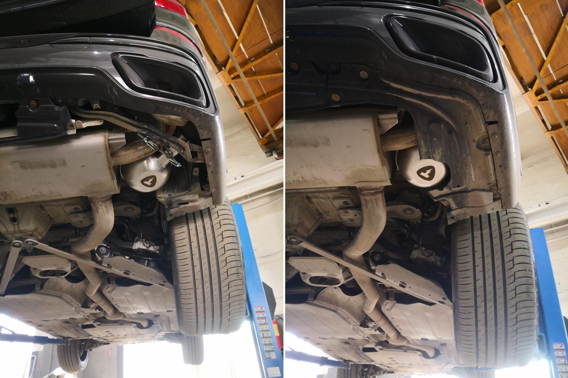 дооснащение BMW X7 G07 активным выхлопом Thor
