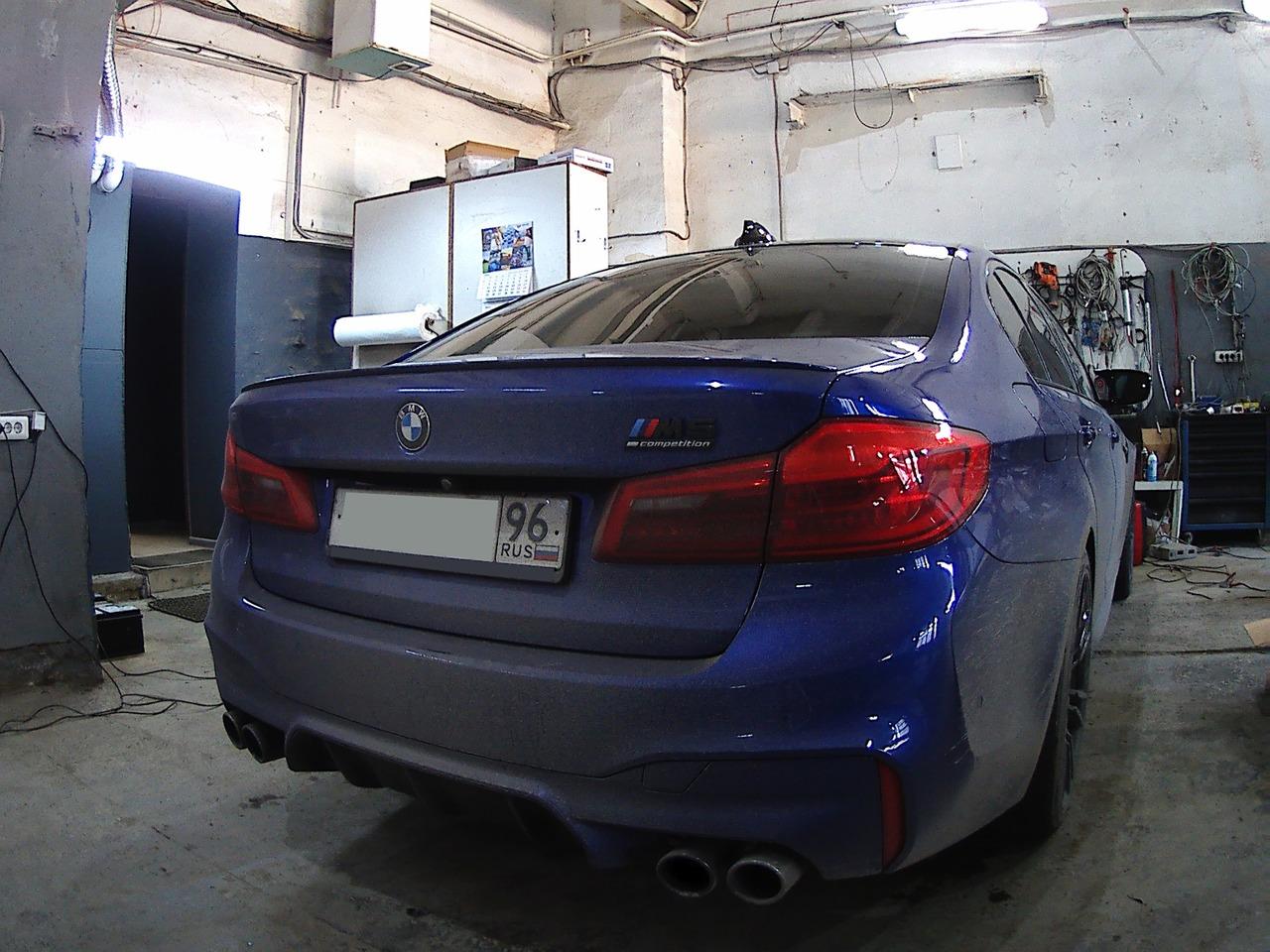 задние фонари рестайл, BMW F90 M5 2018