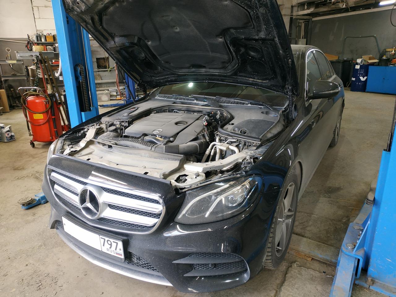 чип тюнинг Mercedes Benz E200