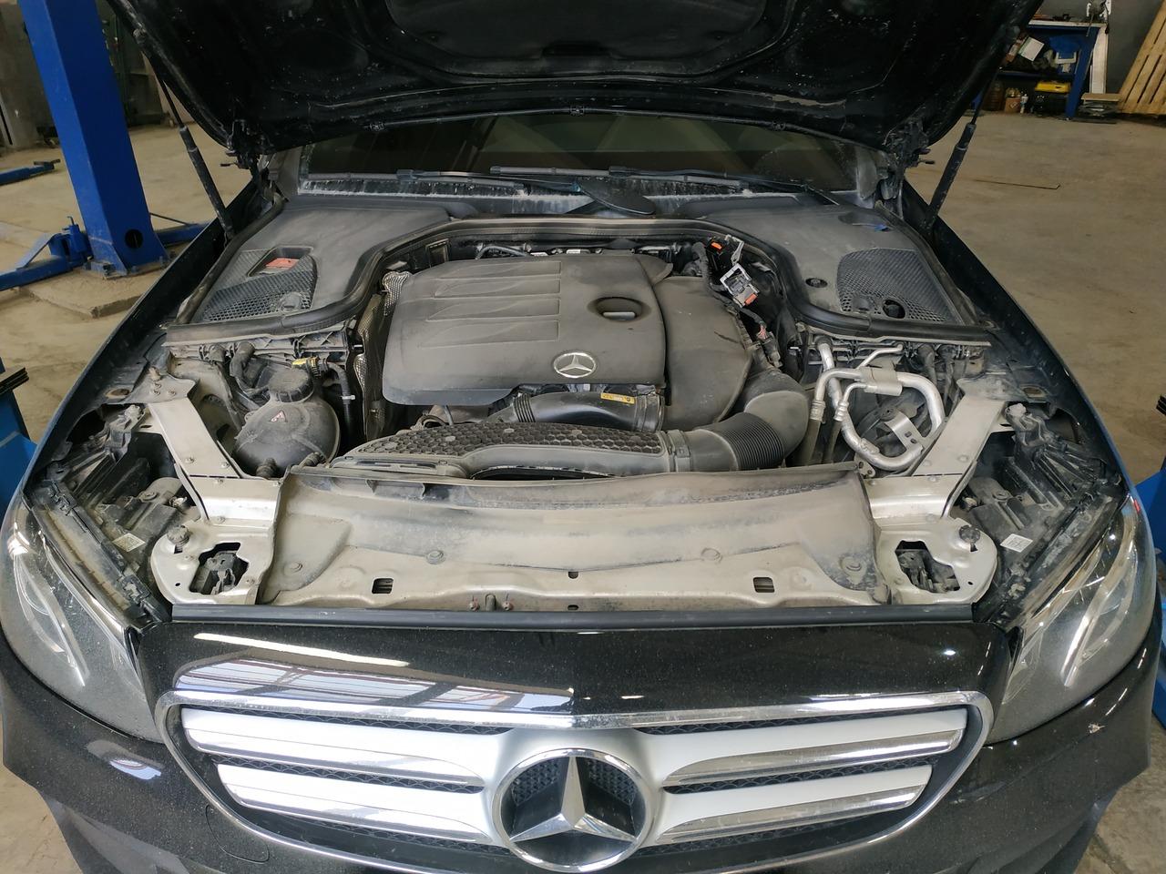 Двигатель  2.0 л бензин, Mercedes Benz E200