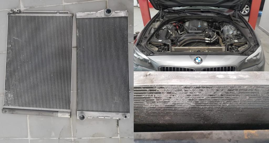 Мойка радиаторов BMW