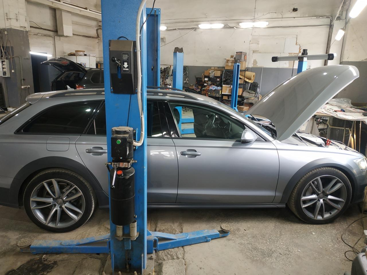 Audi A6 Allroad Quattro 2016, C7 рестайлинг