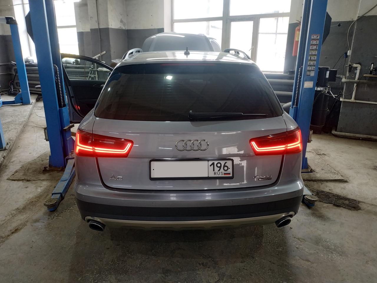 Audi A6 Allroad Quattro, вид сзади