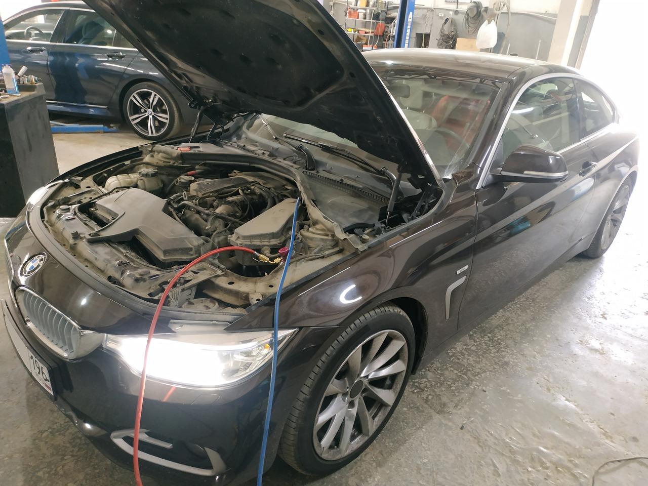 Заправка кондиционера, BMW F32