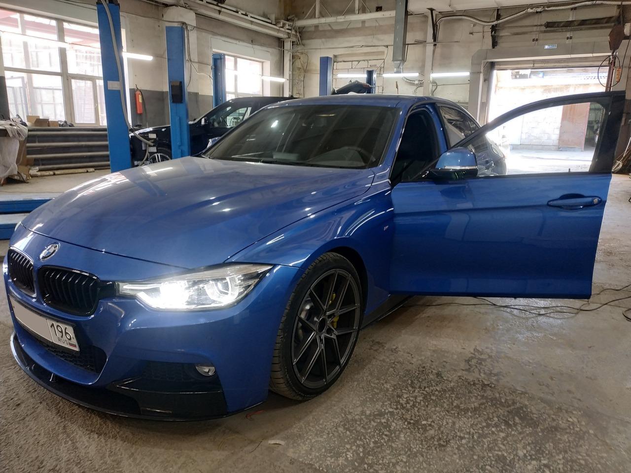BMW F30 320d, прошивка КПП