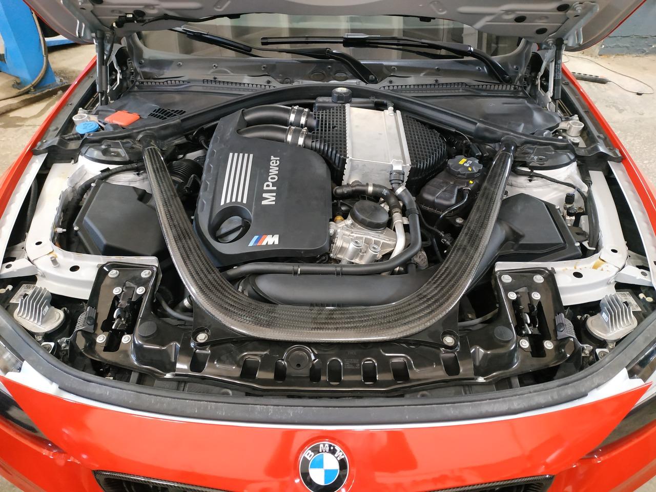 Двигатель S55B30 турбо, прошивка CS+
