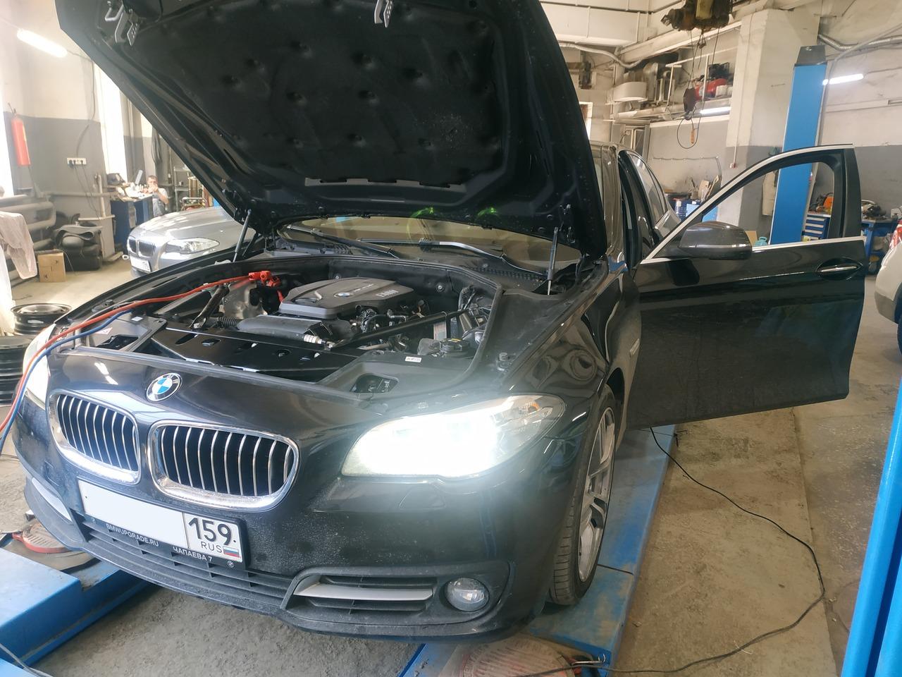 Чип тюнинг BMW F10 520d