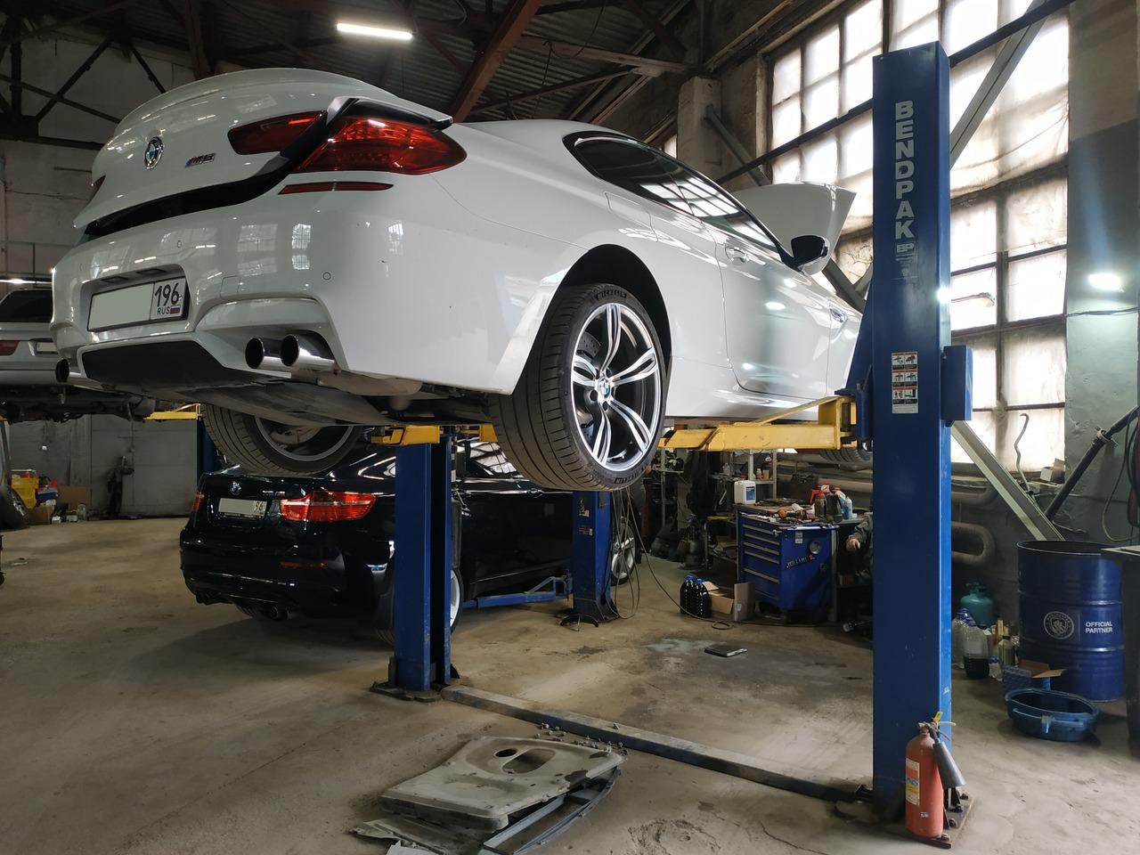 BMW M6, автосервис BMWupgrade