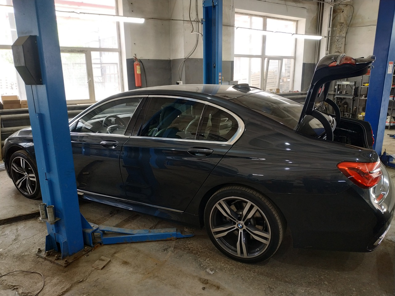 BMW G11 740d 2017 г.в.