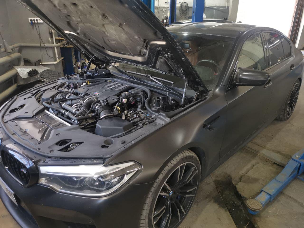 Чип тюнинг Stage1, BMW F90 M5