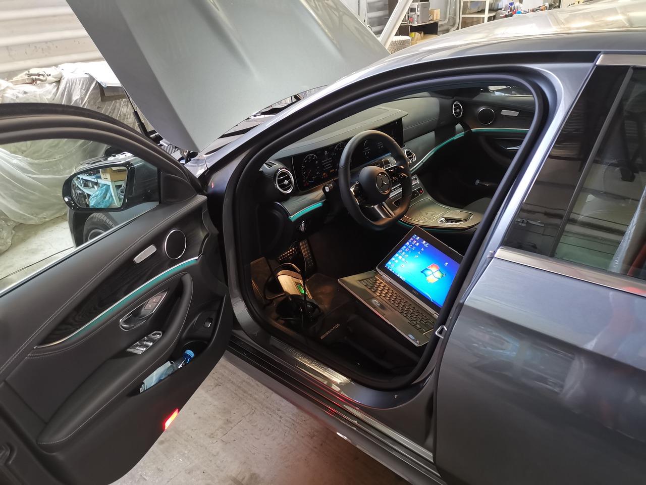 прошивка Mercedes E200 в E300