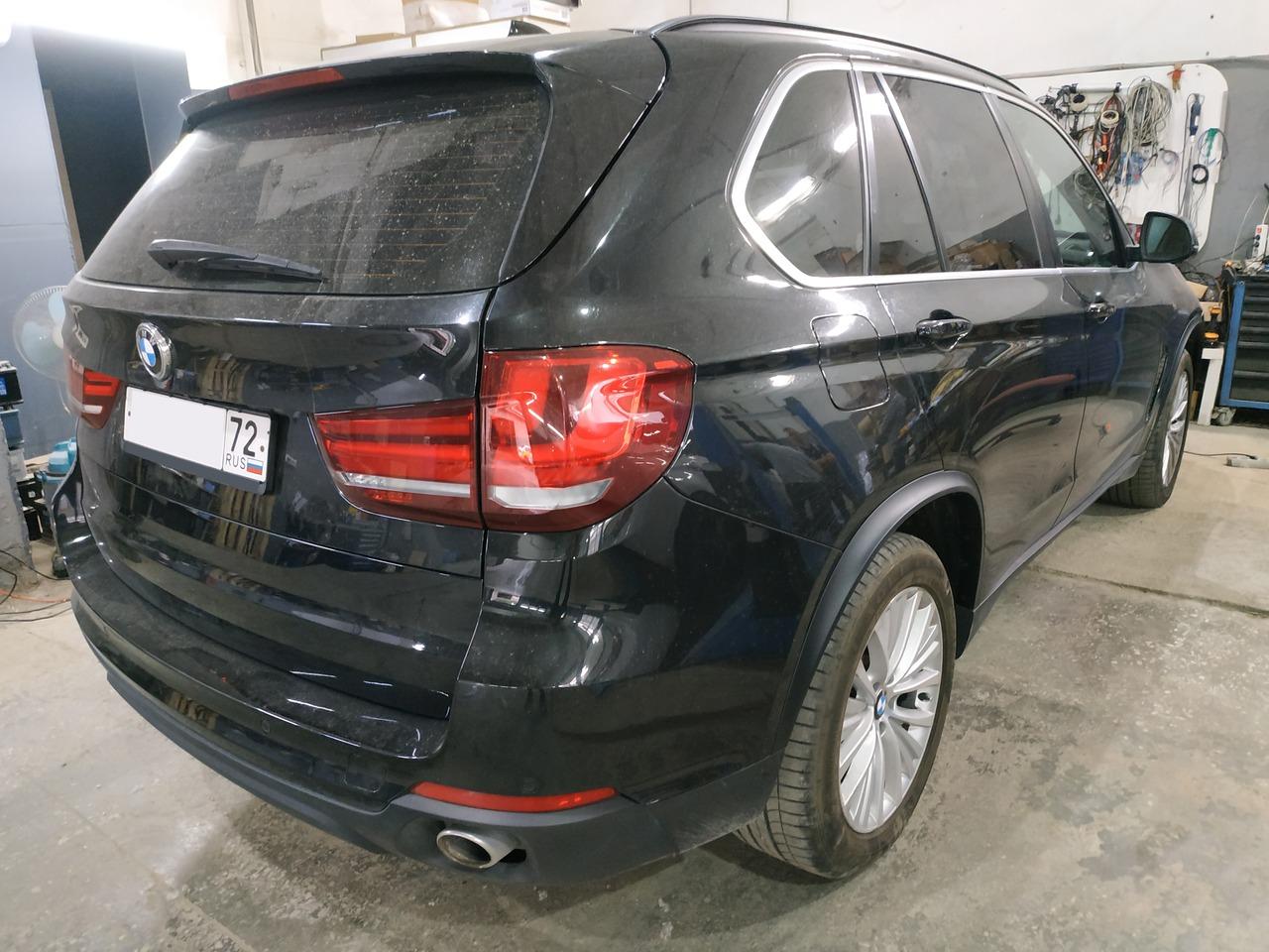 вид сзади, BMW X5 F15 25d 2016