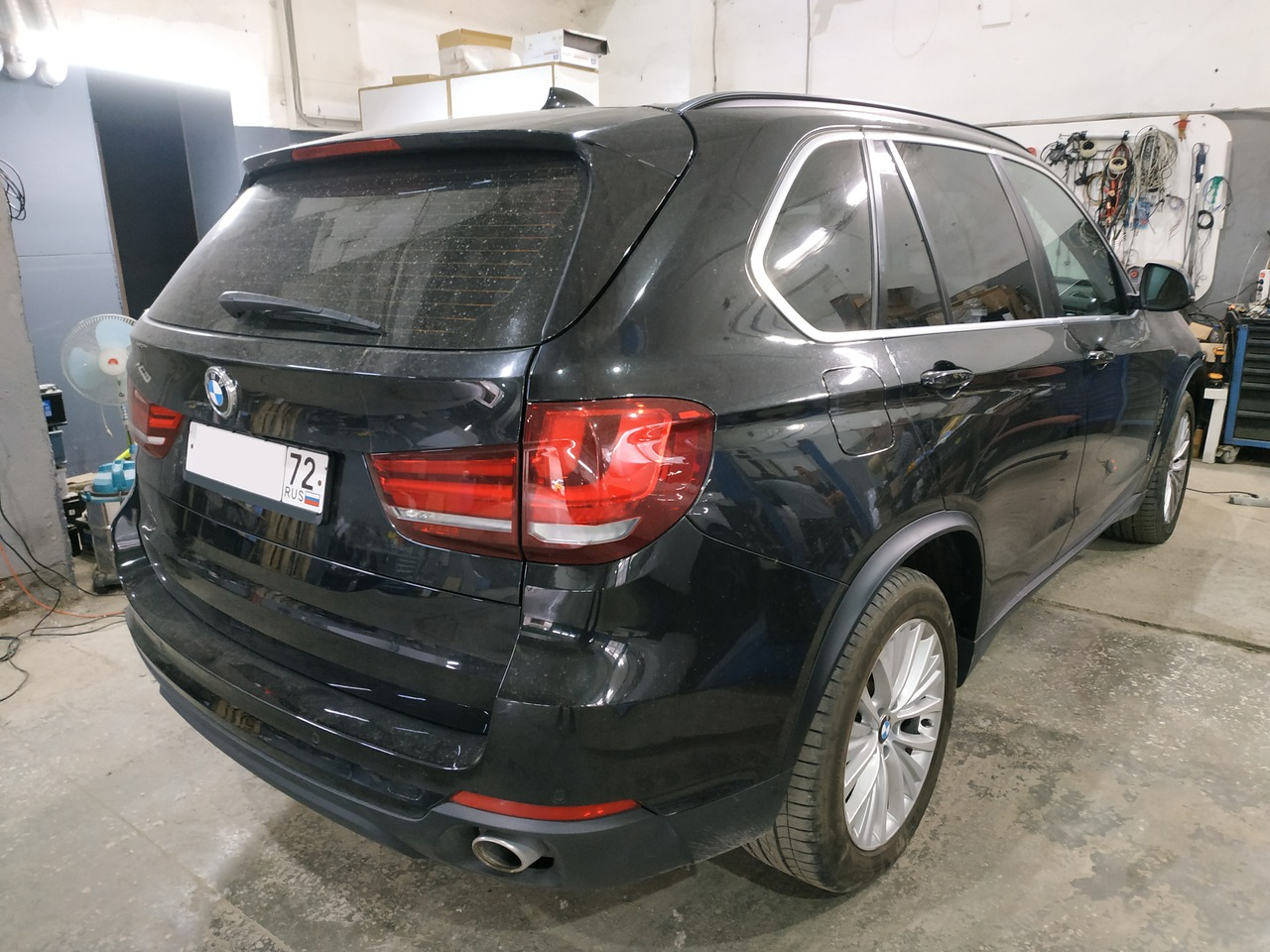 BMW X5 F15 2016, вид сзади