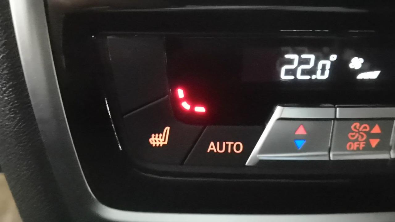 включение подогрева задних сидений, BMW X6 G06