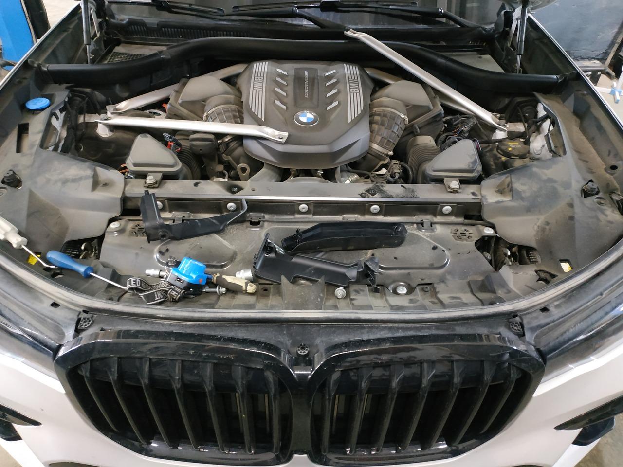 Двигатель 4.4 л бензин, чип тюнинг