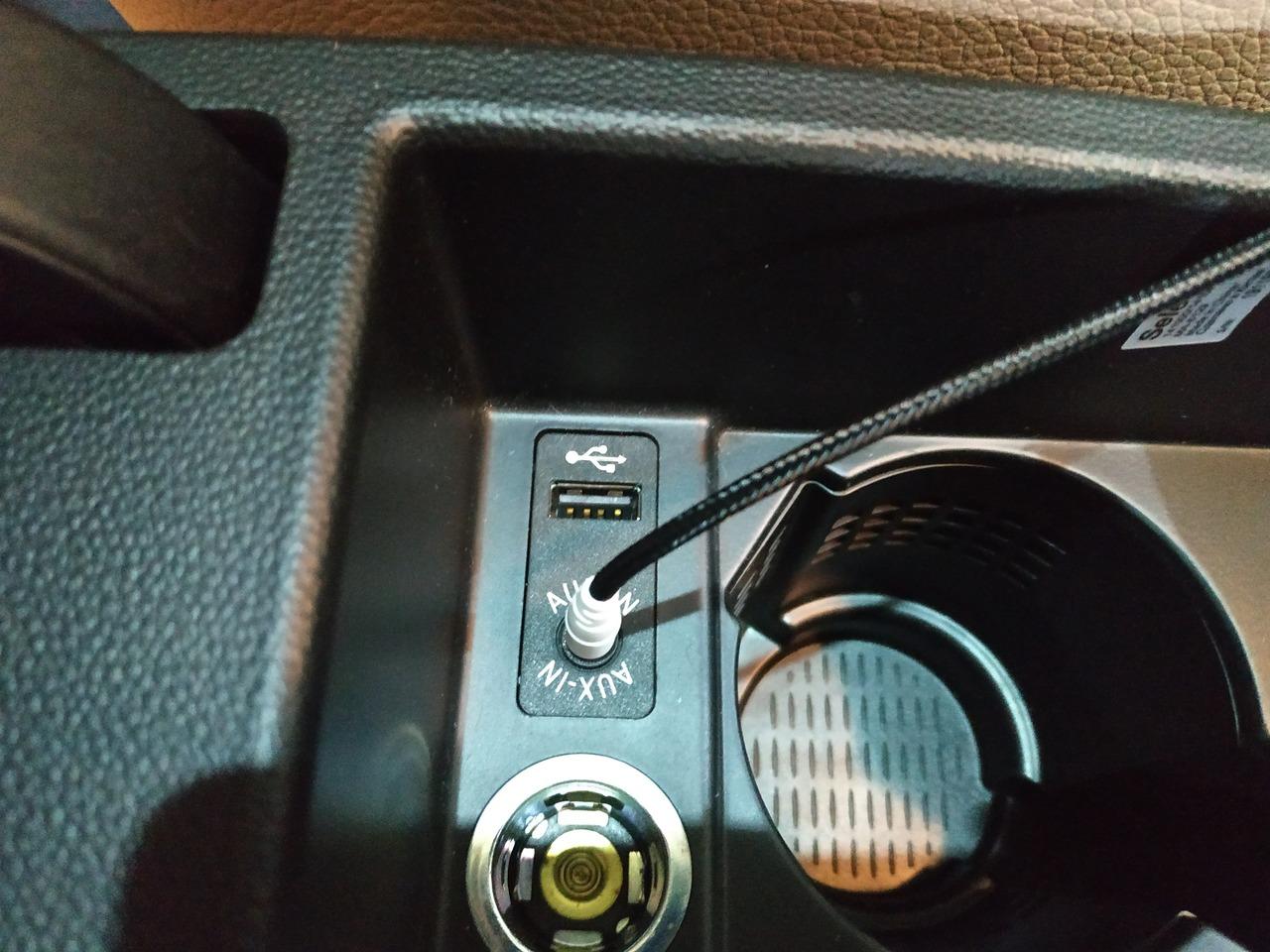 подключение AUX, внешнего аудио источника