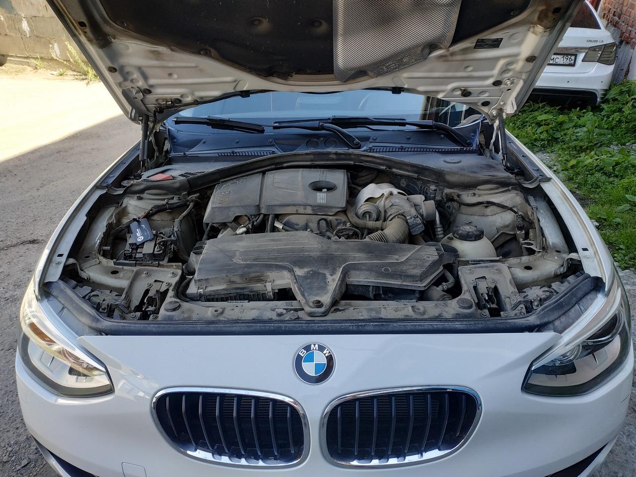 BMW F20 118i, двигатель N13