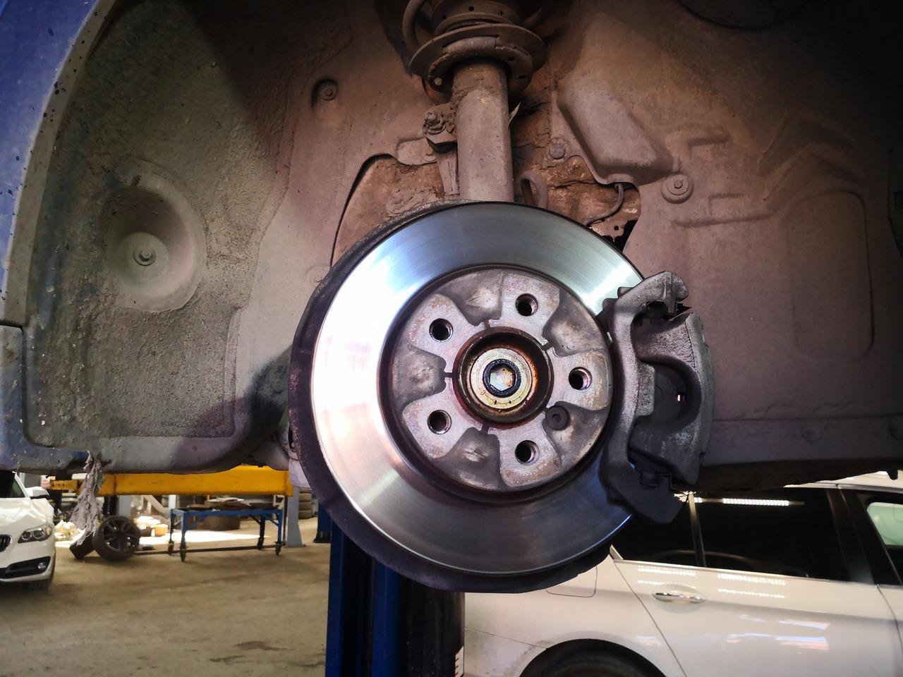 Старый тормозной диск, MINI F56