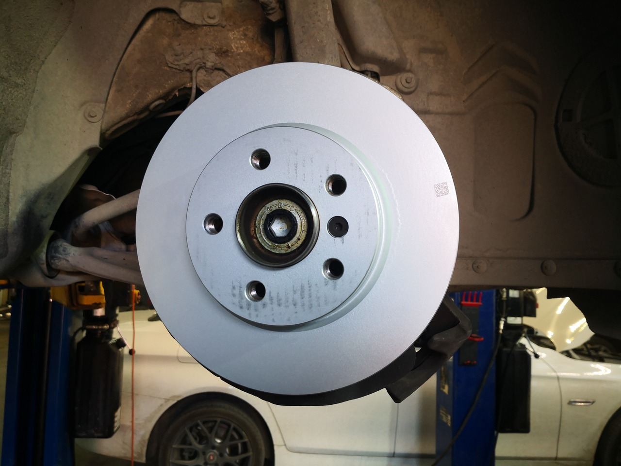 замена тормозного диска MINI Cooper