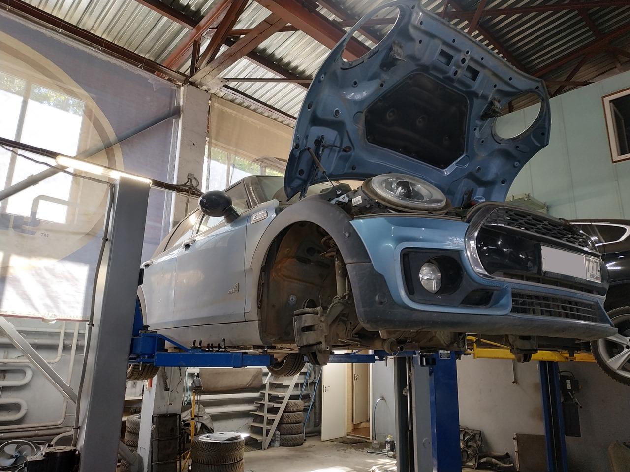 MINI Cooper S Clubman F54, замена двигателя