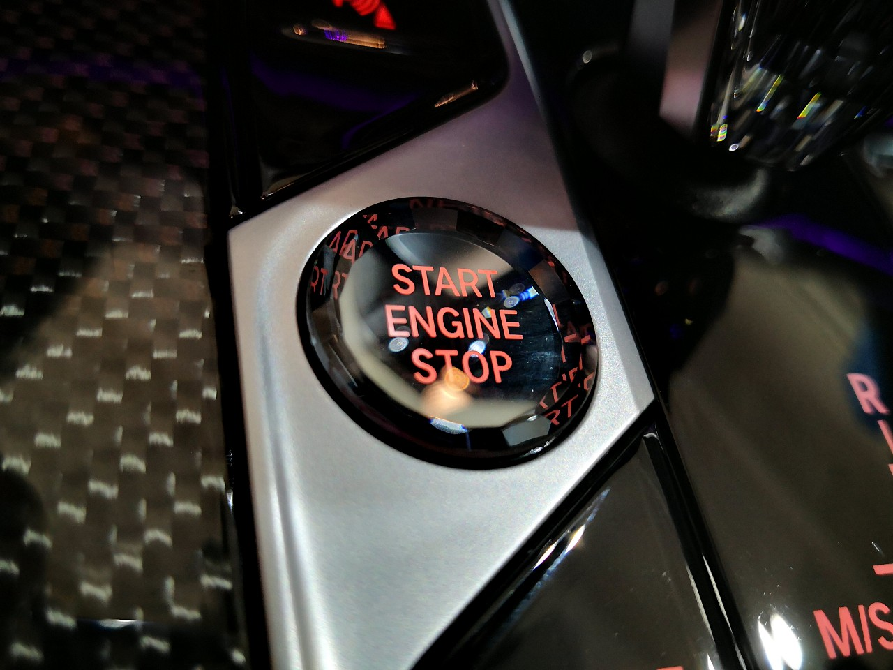 кнопка start stop engine, опция 4A2