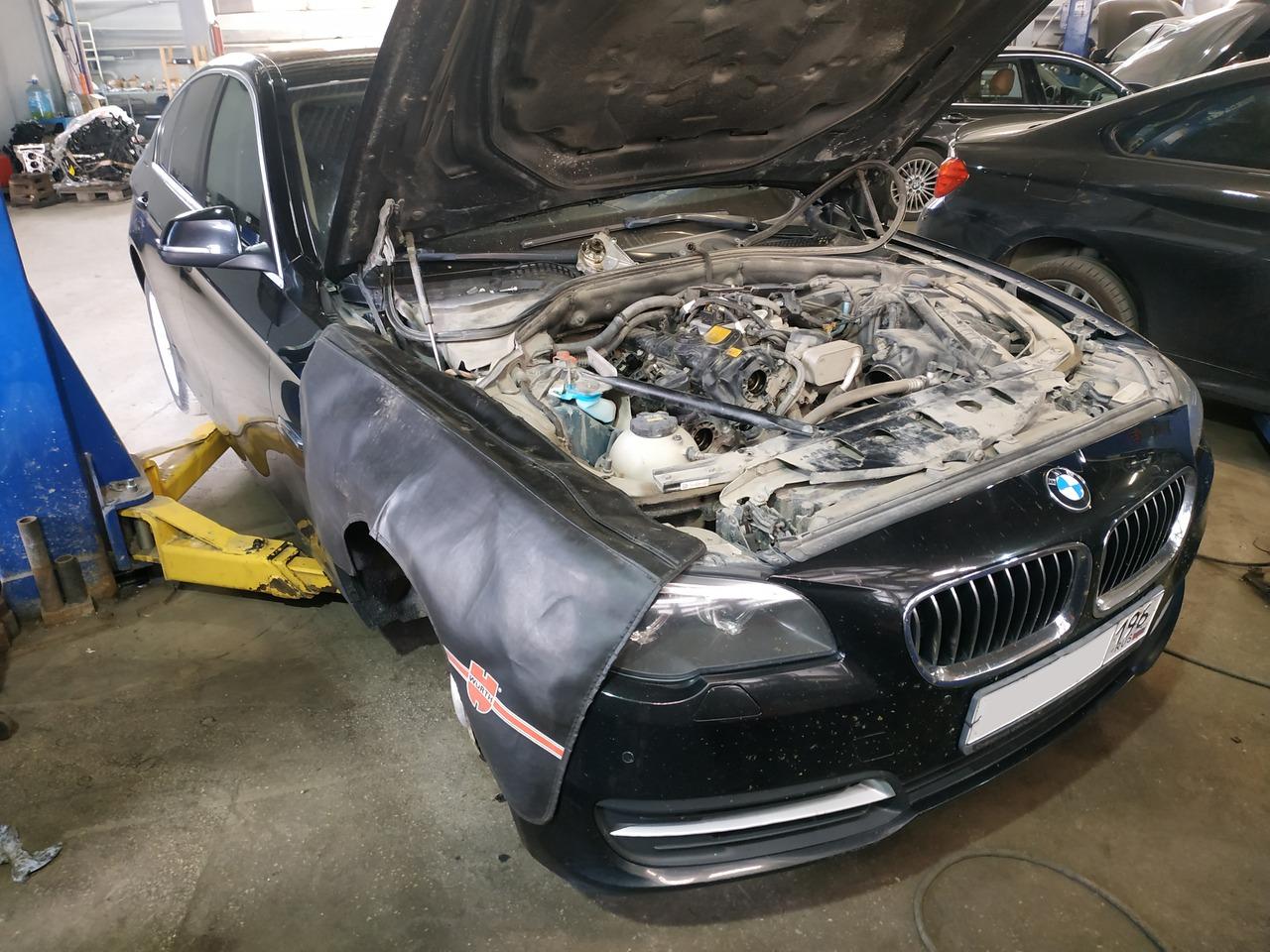 BMW F10, двигатель N20