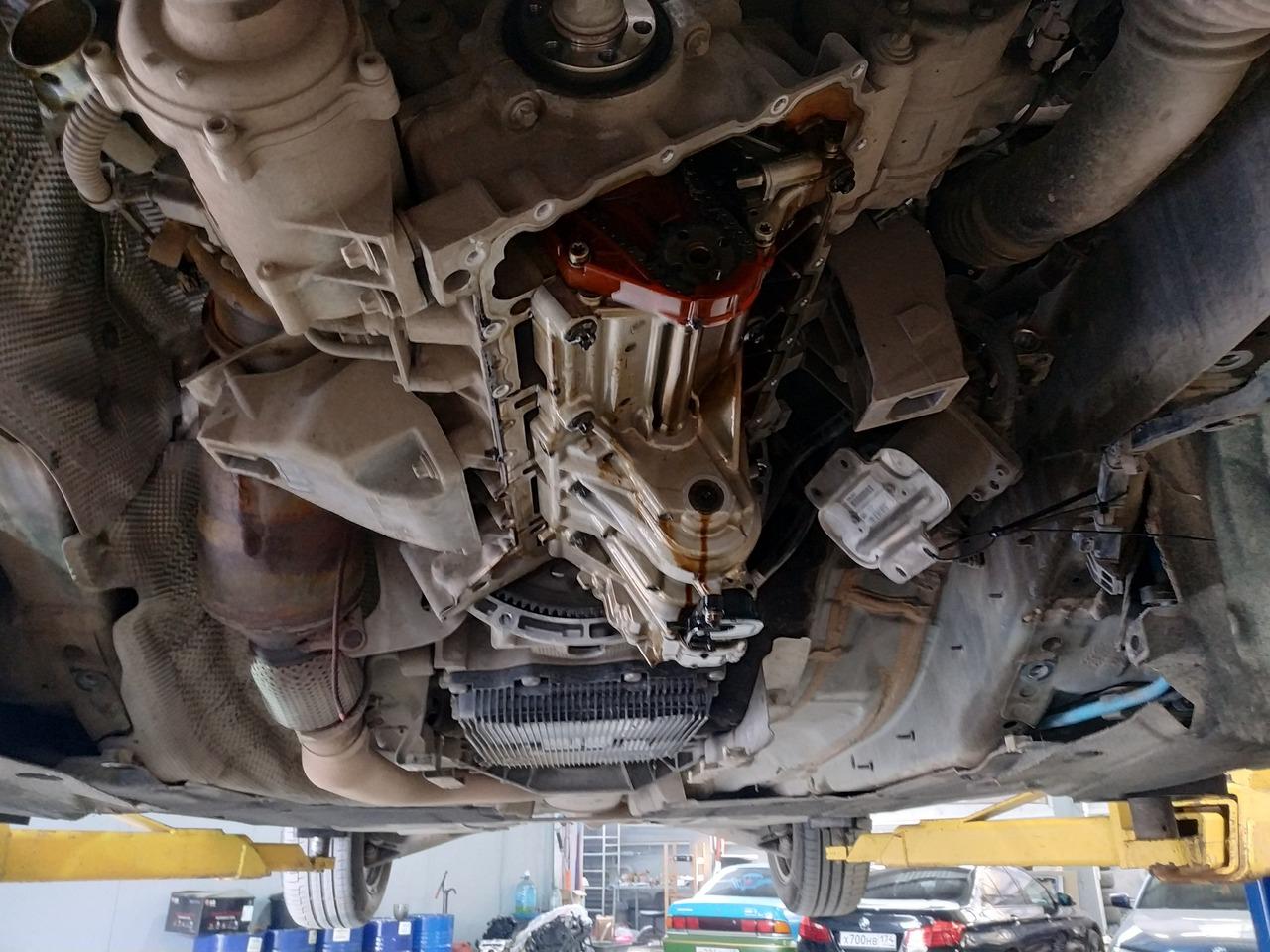 замена цепи ГРМ, BMW F10