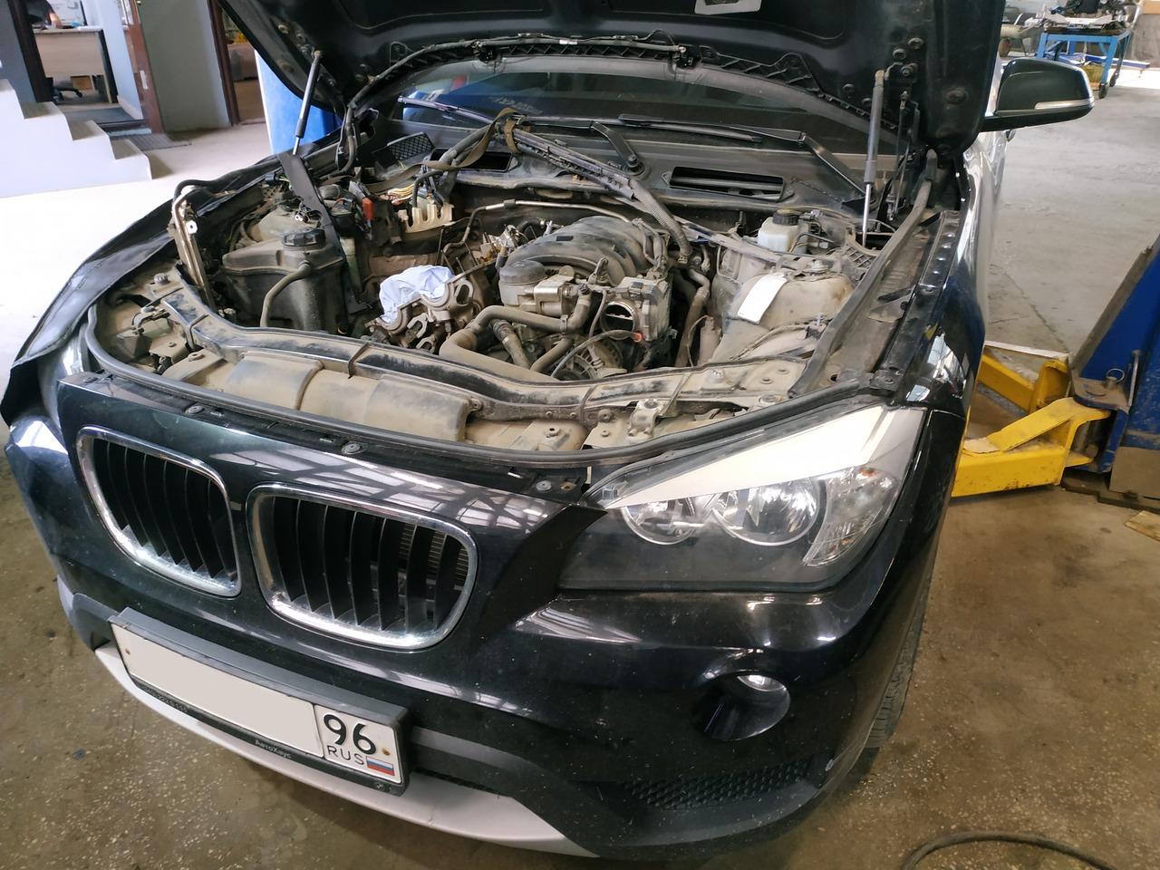 BMW X1 E84 18i, двигатель N46