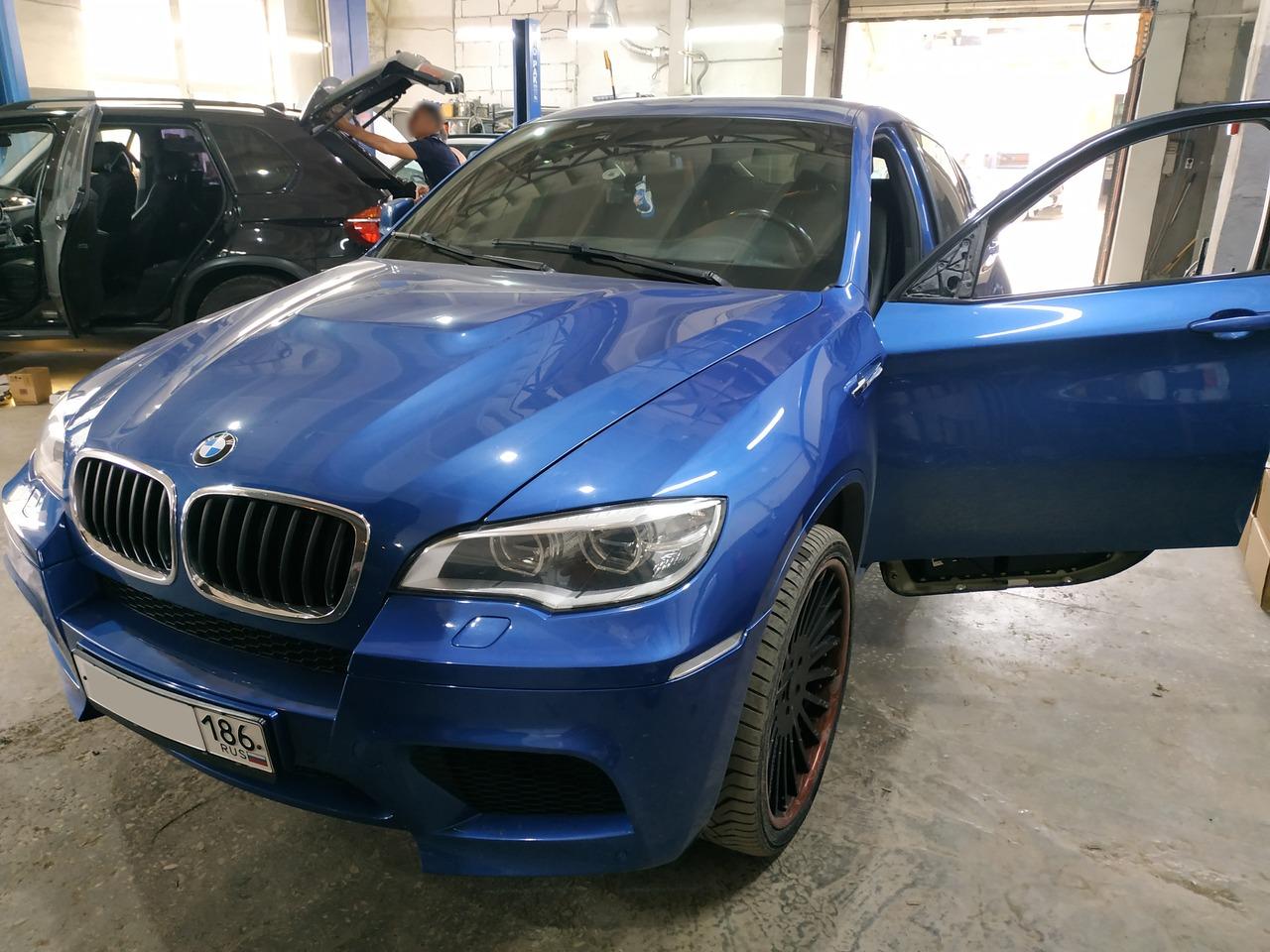 зеркало снято, BMW X6 E71