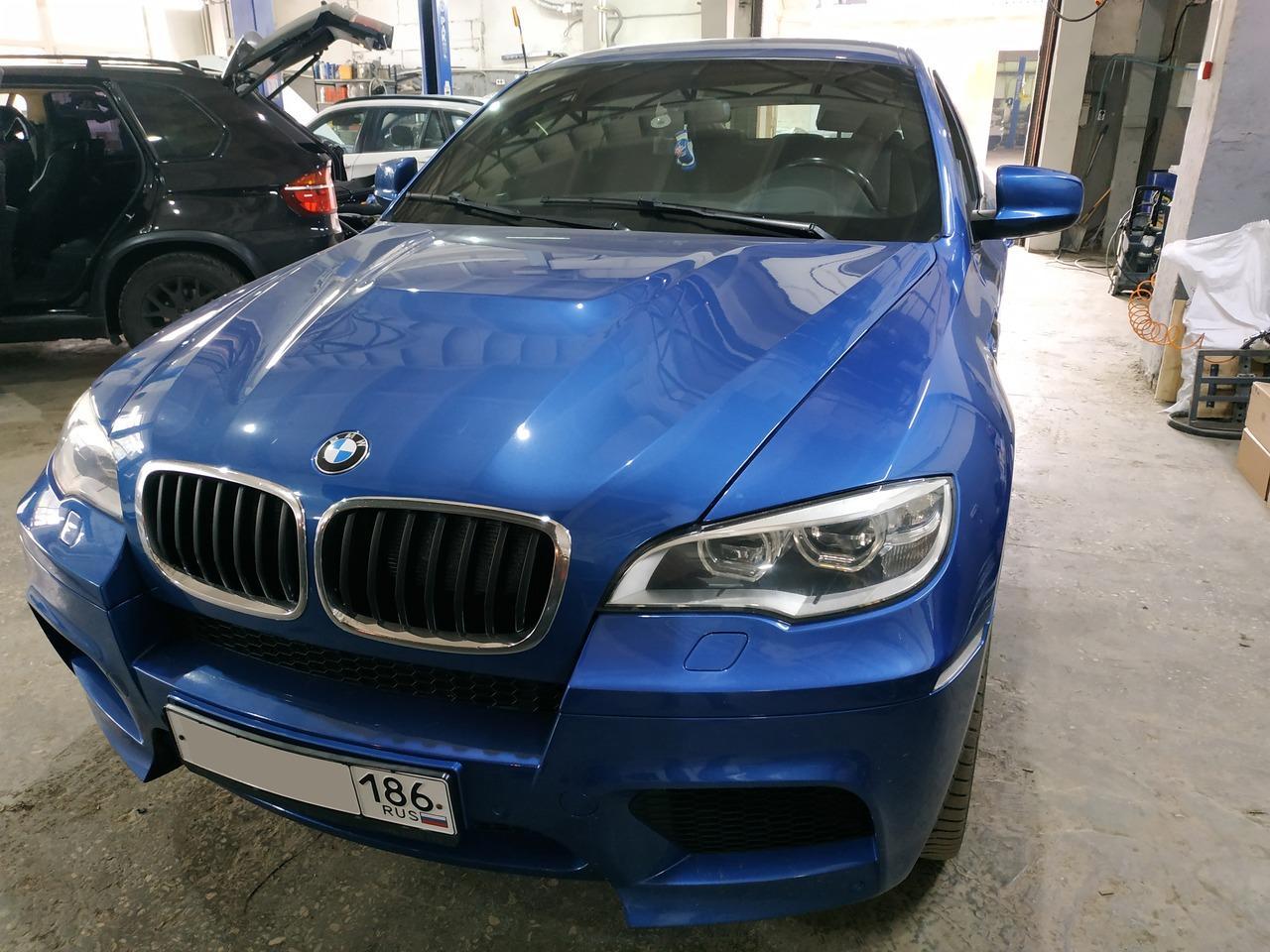 Замена зеркала, BMW X6 M E71