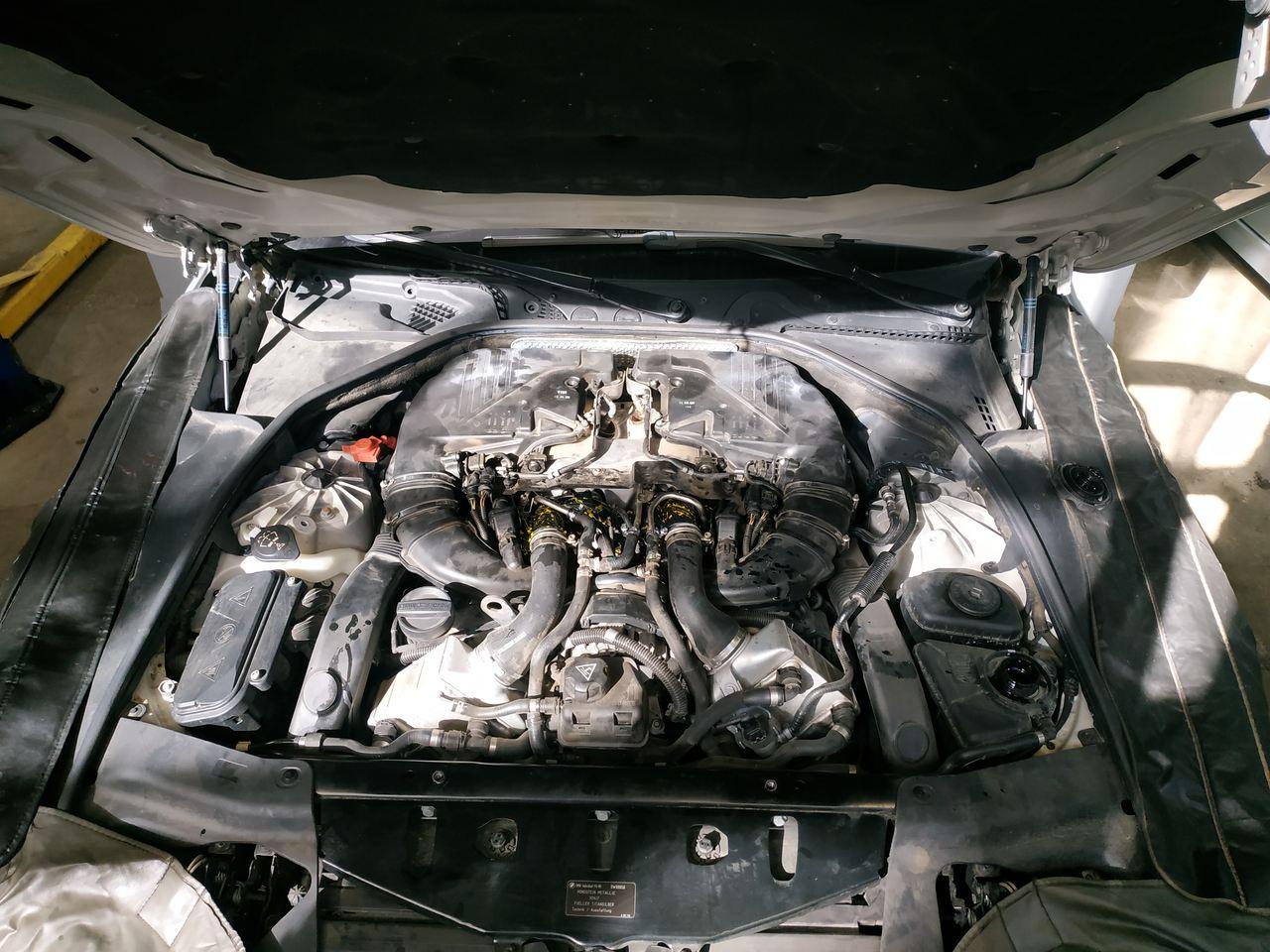 Установка новых турбин, BMW F13