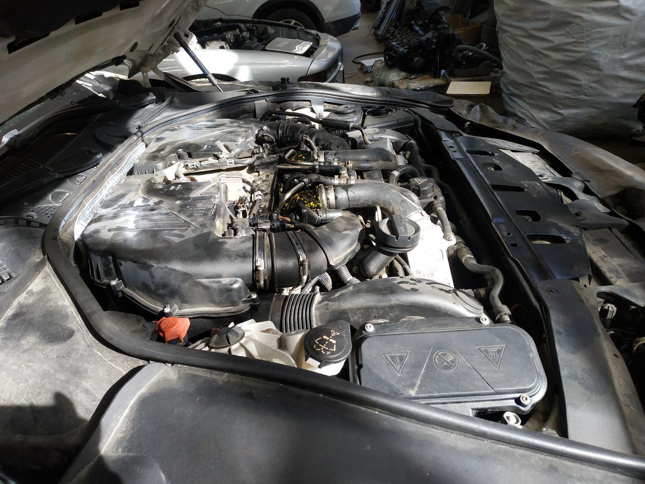 двигатель N63B44 с новыми турбинами