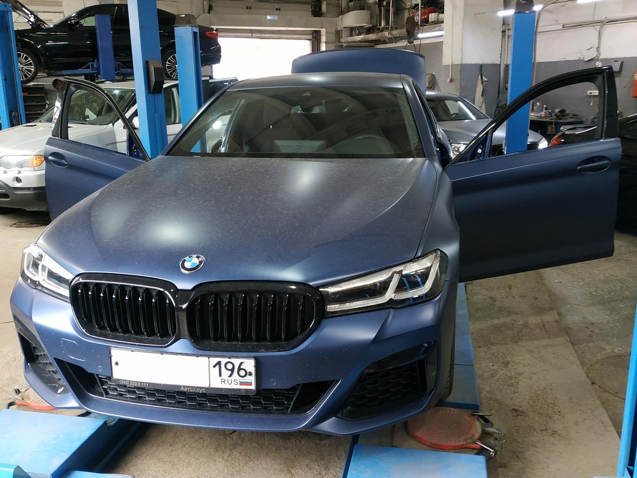 BMW G30 2021 г.в.