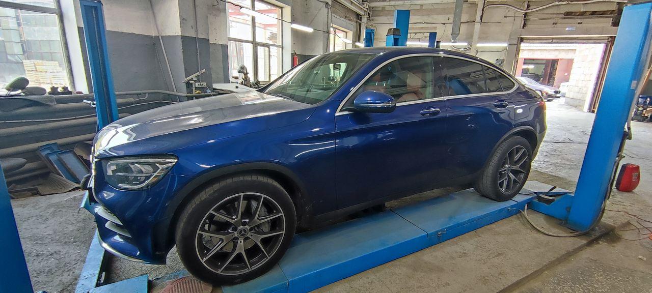 Mercedes GLC Coupe 300, чип тюнинг до 300 л.с.
