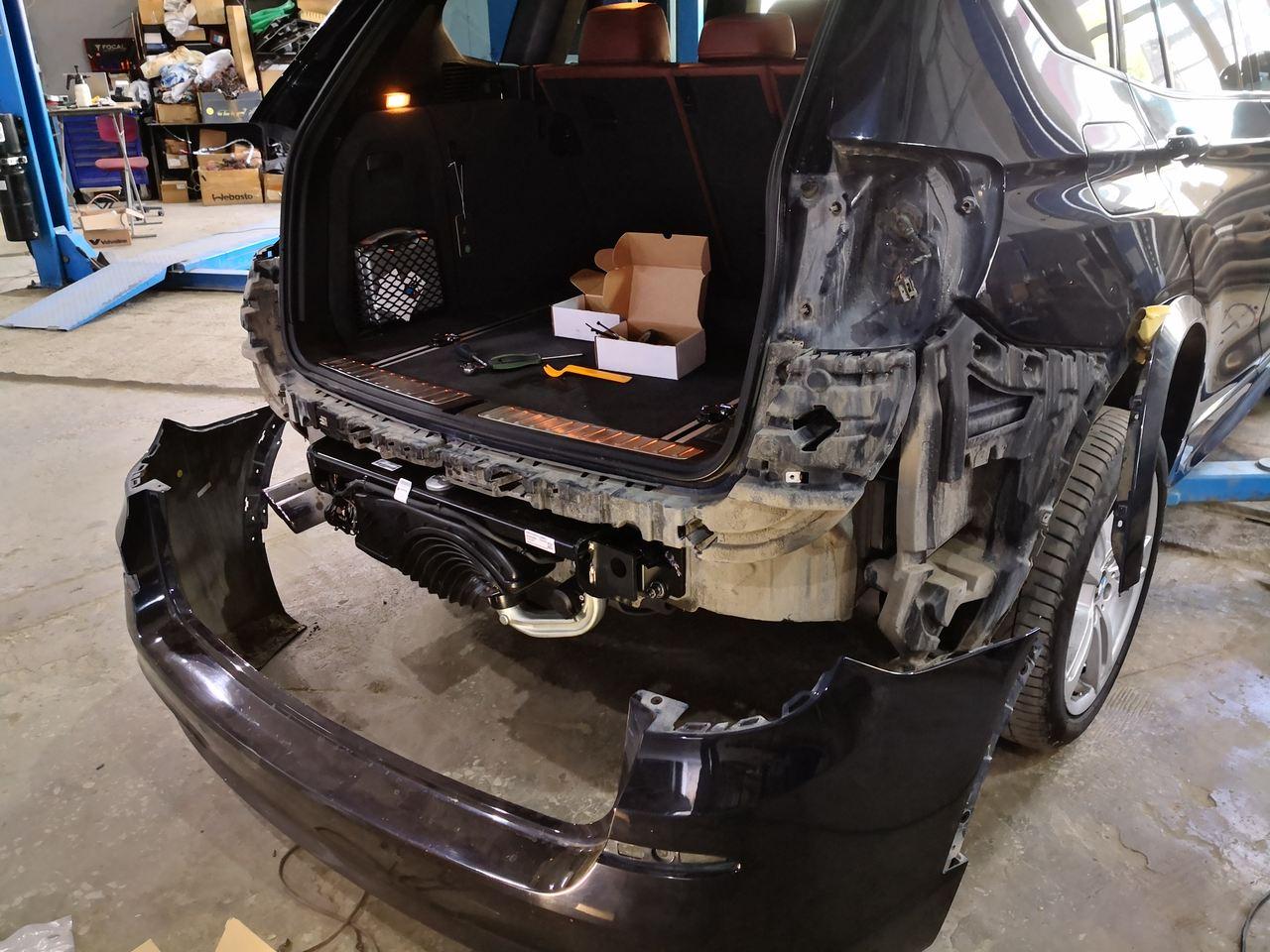 электрофаркоп на BMW X3 F25